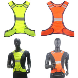 run equipment Promo Codes - Mayitr New Fluorescent Yellow High Visibility Reflective Vest Security Equipment Night Safety Clothing Waistcoat
