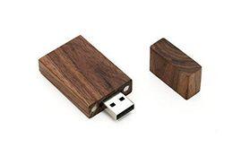 2019 одиночные палочки оптовая цена новое прибытие 8GB 16GB 32GB USB 2.0 деревянный Ореховый диск - один элемент - Grove Stick Design дешево одиночные палочки