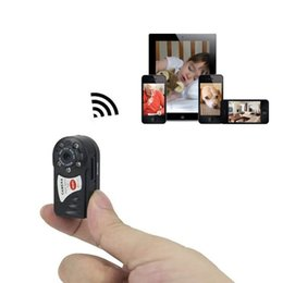Argentina Portátil Mini Q7 WIFI P2P Vigilancia Micro Cámara remota Seguridad DVR Cámara de visión nocturna Cámara IP inalámbrica Bolsillo Mini Videocámara cheap wireless cameras portable dvr Suministro