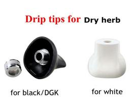 Dicas de gotejamento para kit de vaporizador de erva Seca bocal branco preto DGK camuflagem titan 1 titan 2 pathfinder 2 kit vaporizador de
