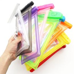 Wasserdichte tasche tasche tauchen pvc online-Wasserdichte Handytasche PVC-schützende Handy-Kasten-Tasche mit Kompass sackt Tauchen-Schwimmen-Sport für iphone X 7 8 plus S8 s8plus ein