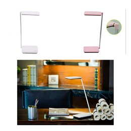 Wholesale Dc Desk - Touch Switch Brightness Adjustable LED Home Office Desk Table Lamp Board Flat Eye Protecting Lamp
