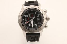 Argentina Good Sapphire Mens Watch Relojes de pulsera para hombre de acero inoxidable Super Avenger II A1337111-BC28BKPD3 Suministro