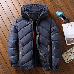 Wholesale Youth Pads - Winter Warm Coat padded Jacket Mens Thickened Removable Cap Loose Youth Tide Casual Thick super large plus size 4XL5XL6XL7XL-9XL