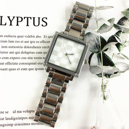 Wholesale Small Boxes For Jewelry - Small Eyes Crystal Lady Watches Stainless steel Square Dial Face Dress Party Spotlight Women Quartz Gifts For Girls High Quality Free box