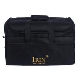 Bandolera acolchada online-DCOS IRIN Standard Adult Cajon Box Drum Bag Mochila 600D Fabric 5MM Algodón acolchado con llevar Handle Hombro Strap
