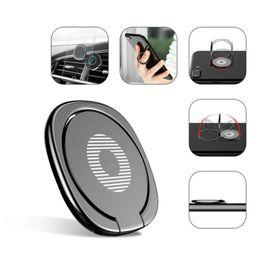Подставка для телефона онлайн-Высокое качество металлический палец кольцо универсальный держатель мобильного телефона кольцо магнитный автомобильный телефон держатель для iPhone 8 7 Sumsung All Handset