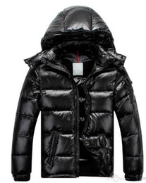 Зимнее пальто женщин съемное онлайн-Новый Мужчины Женщины Повседневная пуховик Майя вниз пальто Мужские открытый меховой воротник теплое перо платье человек зимнее пальто пиджаки куртки парки