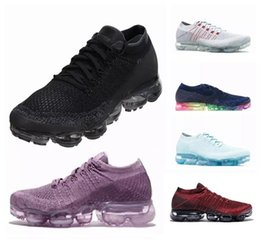 Wholesale Canvas Lines - New 2018 vaporMax BE TRUE Mens Running Shoes For Women Men Fashion Ourdoor Casual Shoes Fly line vapor Sports Sneakers Training US5-11