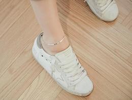 925 чистое серебро ножные браслеты, женская мода, тонкие, плоские, кости змеи, простым способом, студентов сандалеты. от