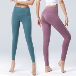 tight yoga pant hot Coupons - hot autumn yoga fitness pants female hip sportswear was thin tight high waist feet nine pants