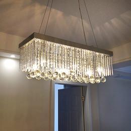 modern lights chandeliers Australia - Modern LED Crystal Chandelier Ceiling Chrome Feature for Crystal Metal Living Room Bedroom Dining Room Hanging Lamp Lighting