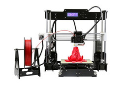 Wholesale commercial color printers - New Upgrade desktop 3D Printer Prusa i5 Size 220*220*240 mm Acrylic Frame LCD 2.5Kg Filament & 16G TF Card for gift (big main board)LLFA