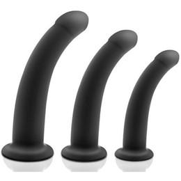 2019 schröpfen massage sex Silikon anal dildo saugnapf butt plug erwachsene erotische spielzeug für frau männer anus dilatator prostata massage buttplug sex produkte günstig schröpfen massage sex