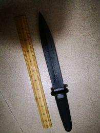 Холодная сталь Тай Пан 13 D военный загрузки Кинжал выживания фиксированной Боуи охотничий нож двойной клинок японский воин меч тактический выживания армии от