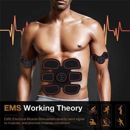 Canada Muscle Trainer Électronique Muscle Abdominal Exerciseur Machine Fitness Toner Ventre Bras Exercice USB Charge Équipement D'entraînement supplier equipment legs Offre