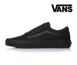 Wholesale fur leather - 2018 Vans Old Skool Canvas Mens Classic Skateboard Designer Sports Shoes Men Womens Sneakers Casual Trainers Chaussures Pour Hommes