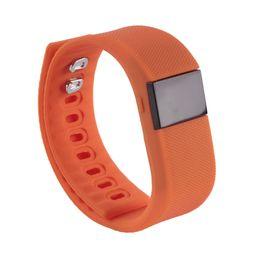 Canada TW64 Bluetooth Smart bande fitbit poignet activité sommeil bracelet Smart Bracelet Pour IOS Android iPhone 8 Plus 7 6 S Smart Offre