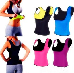 Wholesale tummy trimmers - 30pcs DHL Cami Hot Women's Hot Shapers Shirt S-2XL body shaper Weight Loss Cincher Slimming Belts Tummy Trimmer Hot