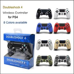 Wholesale Ps Controller Bluetooth - Wireless Bluetooth Game Controller for PlayStation PS4 Game Controller Gamepad Joystick for PS4 PS TV PS NOW With Retail Box