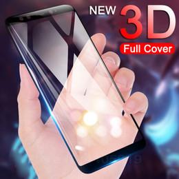 Argentina Vidrio templado 3D para Xiaomi Mi 5 5C 5X 5S más 6 6X 8 8SE 8X Lite Nota NOte3 Mix Max 2 3 2S Cubierta completa Protector de pantalla Película de vidrio cheap mixed screen protectors Suministro
