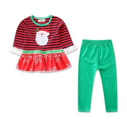 649450f83c13 cute new years outfits Coupons - Kids Girls Christmas Costumes Outfits  Cotton Children Girl Shirt Dress