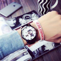 2019 милые черные часы New Arrival Japanese Style Cartoon Cute Fruit design Black White Quartz Watch Wristwatch for Men Women Male Female дешево милые черные часы