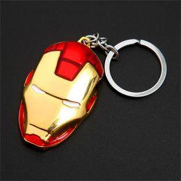 Wholesale Batman Superman Toy - The Avengers Captain America Shield Keychain Superman Superhero Batman Thor Hammer Keychain Ring Key ring Fashion Accessories party gift