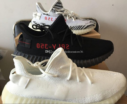Wholesale Uv Test - 2017 v3 Cp9366 Cream White 350 v2 Cp9654 Cp9652 Pass UV light Test V2 Shoes 36-48 350 Boost Kanye West Running Shoes
