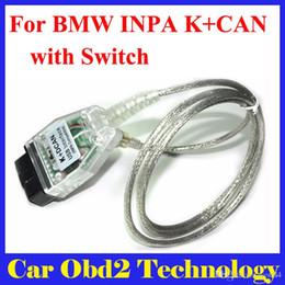 programador chave automático Desconto Para BMW INPA K + DCAN Interface USB OBD PODE ferramenta de Diagnóstico-scanner Comutado INPA DIS SSS Codificação NCS frete Grátis