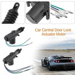 система блокировки дверей 12v Скидка 12V автомобиль замок система одного пистолета тип центральный замок привод двигателя авто система запирания двигателя для дверь багажника замок сигнализация новый