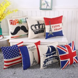 Wholesale French Sofas - 2018 new According to the sofa cushion cover of pillow flax cushion cover the French tower
