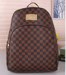 Wholesale Fashion Men School Bag - Hot New Arrival Fashion Men Women School Bags BOSPHORE Hot Punk style Men Backpack designer Backpack PU Leather Lady Bags