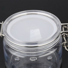 envase de la caja del tarro de olla vacía Rebajas Portátil Blanco Translúcido Mini Cosmético de Plástico Tarro Vacío Maceta Sombra de Ojos Maquillaje Maquillaje Cara Bálsamo Labial Contenedor jc-208