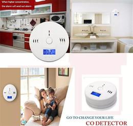 2019 gas de seguridad Sensor de Gas de Monóxido de Carbono de CO Monitor de Alarma Poisining Detector Probador Para la Seguridad En El Hogar de Alta Calidad de Vigilancia rebajas gas de seguridad