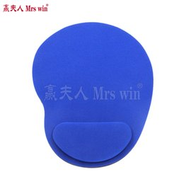 Wholesale Red Optical Mouse - Hot sale Optical Trackball PC Thicken Mouse Pad Support Wrist Comfort Mouse Pad Colorful