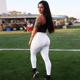 Pantalones ajustados de yoga sexy online-Nuevas mujeres atractivas de alta elasticidad Fitness Sport Leggings pantalones de yoga mallas de correr delgado Sportswear Sports Pants Pantalones Ropa Productos calientes