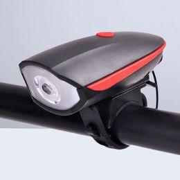 YENI Bisiklet Işık Şarj Edilebilir IP44 Su Geçirmez Ön Kuyruk Arka Bisiklet Korna Perakende Kutusu ile Lamba Seti supplier cycling light sets nereden bisiklet ışık setleri tedarikçiler