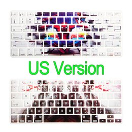 "Wholesale Macbook Air Skin Protector - US Version Keyboard Cover Protector Silicone Skin for All MacBook Pro 13"" 15"" Retina for iMac & MacBook Air 13"""