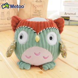 Wholesale Novelty Pigs - Kawaii Animals Light Plush Toys Owl Pig Sheep Pat Lamp Night Light Stuffed Dolls Novelty LED Glowing Toy Gifts for the New Year