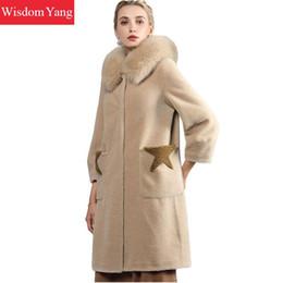 Rabatt Mantel Womens Wolle 2019 Woolen Wintermantel Frauen Im