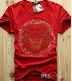 Argentina Hombres al por mayor baratos Diseño de Diamantes de Lujo Camisetas de Moda Hombres Camisetas Divertidas Marcas de Algodón Tops y Camisetas cheap diamond shirts cheap Suministro