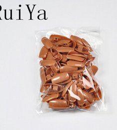 Wholesale Hands Practice Nails - 100pcs pack PP Material Original Type Accessory Replacement Refill Nail Tips for Practice Hand Nail Trainer False tips