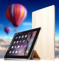 Canada Pour Apple iPad 4 iPad3 iPad2 Housse de protection Étui de protection en cuir PU Etui Pour iPad4 iPad 3 2 étuis à manches 9,7