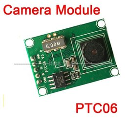 Ttl camera en Ligne-Freeshipping Miniature PTC06 Serial JPEG Module Caméra CMOS 1/4 pouce Interface TTL / UART MRY