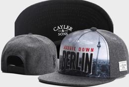 Canada Cayler fils casquettes snapback chapeaux casquettes réglables équipes de sport en plein air hommes et femmes mode chapeau de chapeau snapback snapback chapeau pour l'été Offre