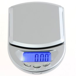 Wholesale Diamond Weighing Scales - 200g 0.01g Portable Digital Scale Mini Jewelry Diamond Pocket Scale LCD Digital weighing Platform Scale Weight Weighing Balance