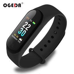 Relógio de pulso de saúde inteligente on-line-Ogeda sports smart watch homens pulseira inteligente bluetooth monitor de saúde pulso à prova d 'água ip67 rastreador de fitness para androi ios