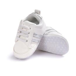 bd3b8d48cd5 Calzado para niños Bebé recién nacido Niña Niño Suela Suave Zapatos para  niños antideslizantes Zapatilla de deporte Zapato Prewalker Infantil  Clásico Primer ...