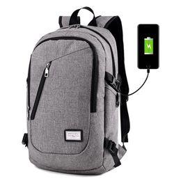 Canada Sac à dos intelligent avec une prise USB sac à bandoulière Sac d'ordinateur pour hommes de 14 pouces Offre